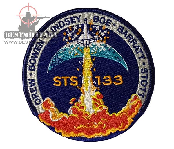 Modernistyczne ORYGINALNA NASZYWKA NASA - DISCOVERY - STS-133 WK81